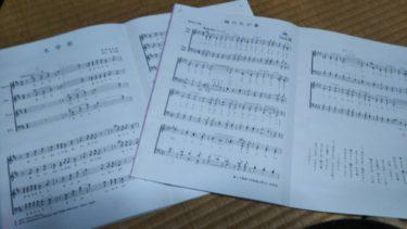 羽生田先生・合唱練習に参加する